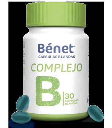 Bénet cápsulas blandas Complejo B