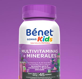 Gomas Kids Multivitaminas + Minerales
