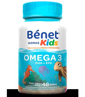 Bénet gomas Kkds omega 3