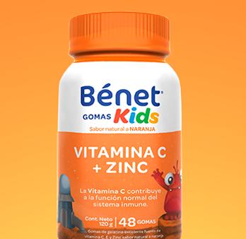 Gomas Kids Vitamina C + Zinc