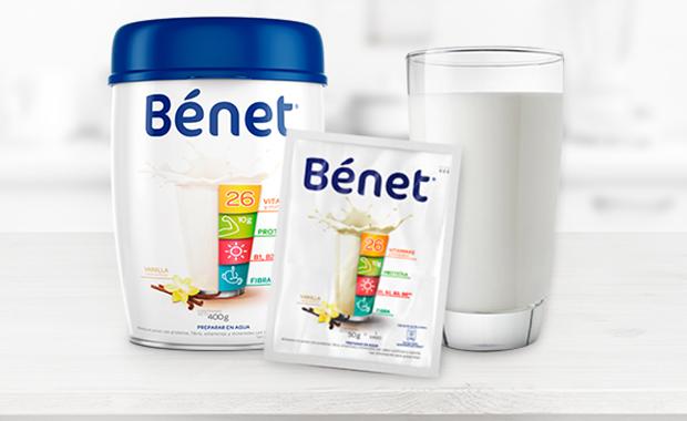 complementa tu alimentación con un vaso de Bénet