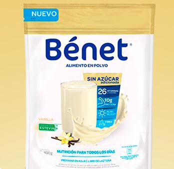 Alimento en polvo nutricional sin azúcar 400g