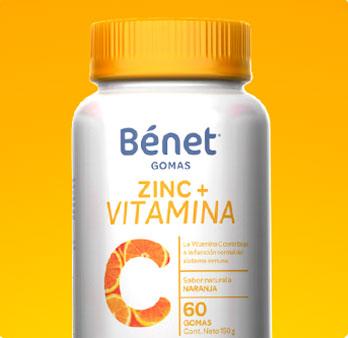 Gomas Zinc + Vitamina C